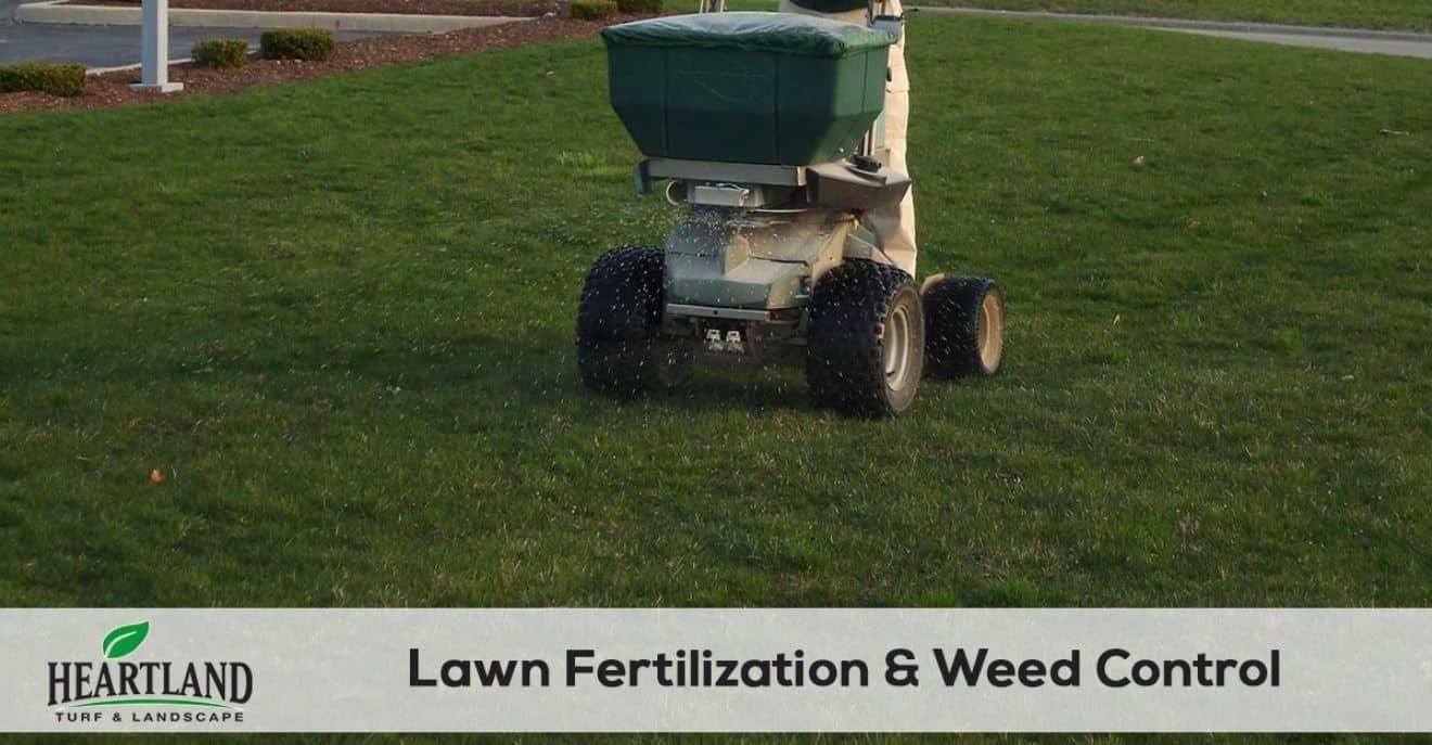 Heartland Lawn Fertilization and weed control 3