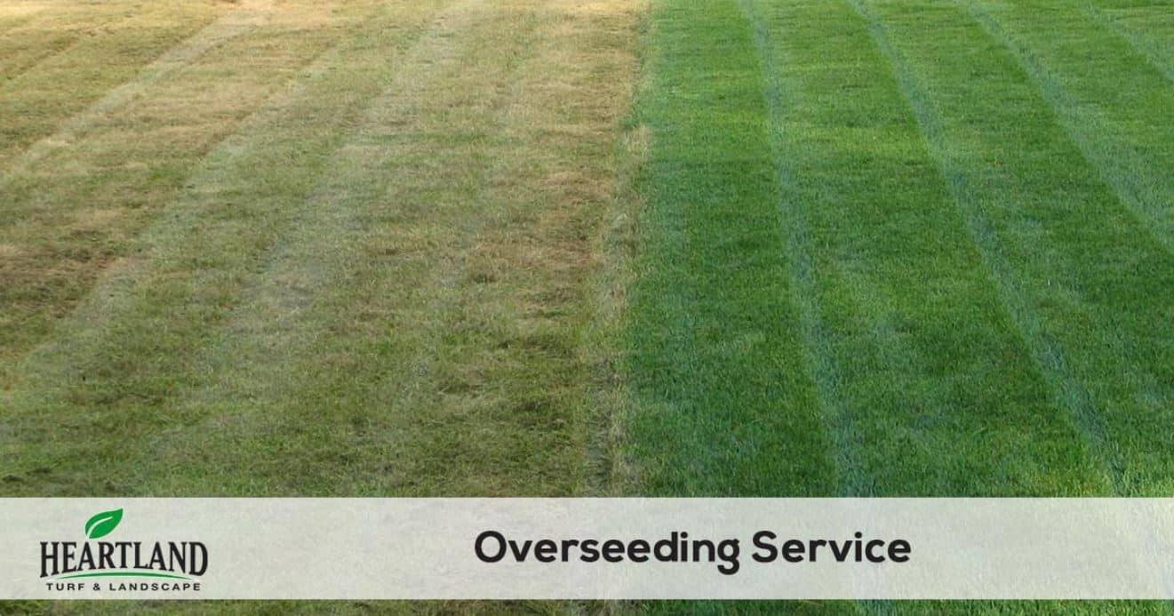 Heartland overseeding service