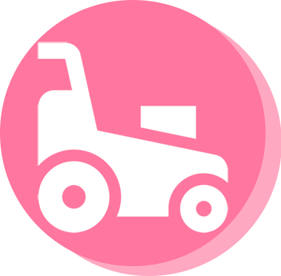 lawn mowing service icon